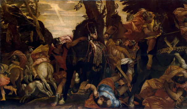 Paolo Veronese,  Conversion of Saul