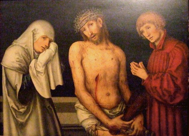 Cranach the Elder, Pieta (Vatican)