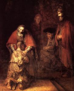 Rembrandt, Return of the Prodigal Son