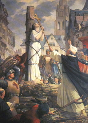 Lenepveu, Joan of Arc at the Stake in Rouen