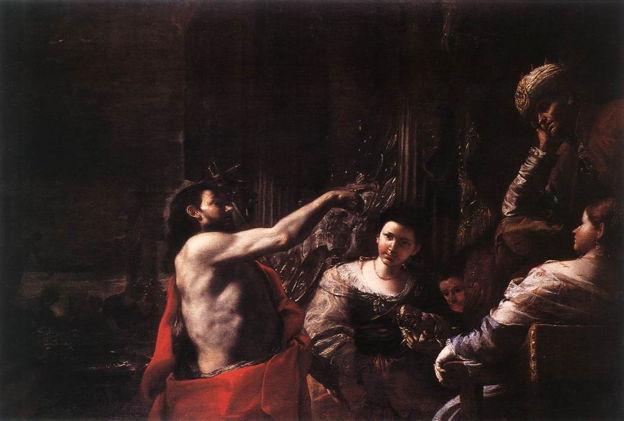 Preti, St. John the Baptist before Herod