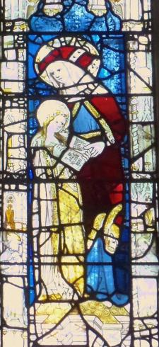 All Saints York, St. Anne and BVM Read Psalm 142