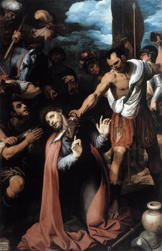 Francisco Ribalta, Martyrdom of St. James