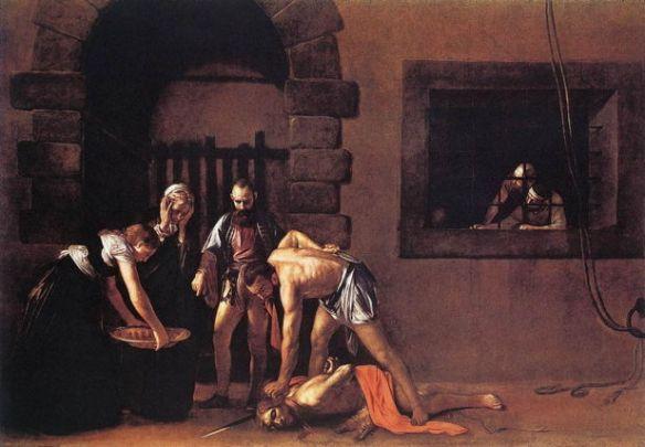 Caravaggio, Beheading of St. John the Baptist
