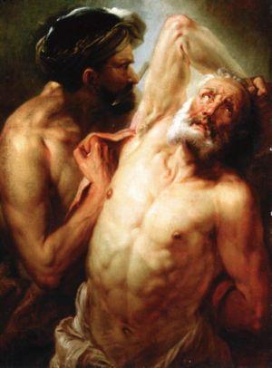 Zoffany, Martyrdom of St. Bartholomew