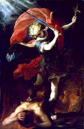Coello, St. Michael Vanquishing the Devil