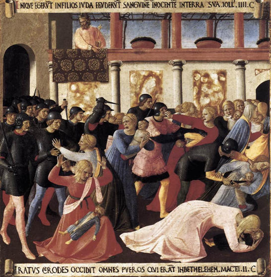 Fra Angelico, Massacre of the Innocents