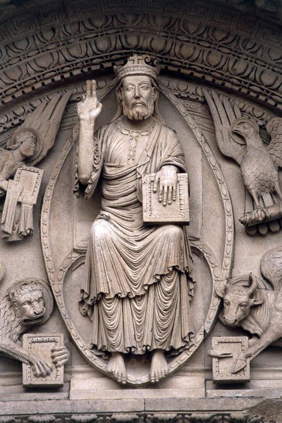 St. Trophime Arles, Christ In Judgment