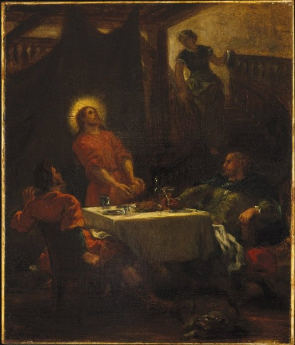 Delacroix, Disciples at Emmaus