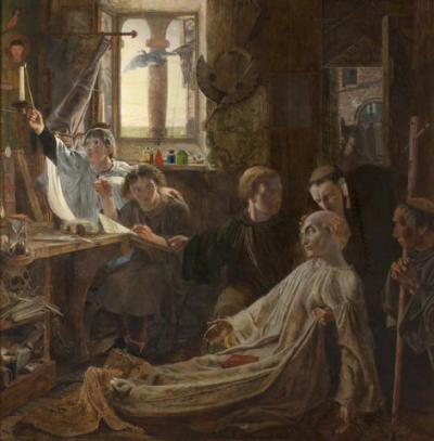Scott, Death of the Venerable Bede