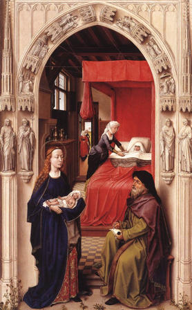 Rogier van der Weyden, Naming of John the Baptist