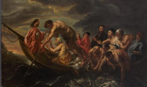 Jordaens, Miraculous Draught of Fishes