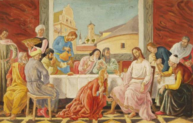 Lajos Pándy, Feast in the House of Simon the Pharisee
