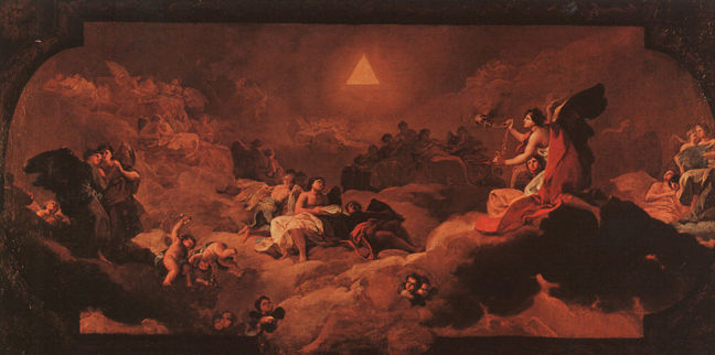 Goya, Adoration of the Name of the Lord