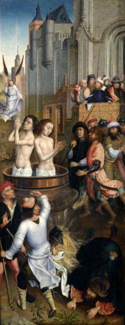 Aert van den Bossche, Martyrdom of Saints Crispin and Crispinian (Brussels City Museum)