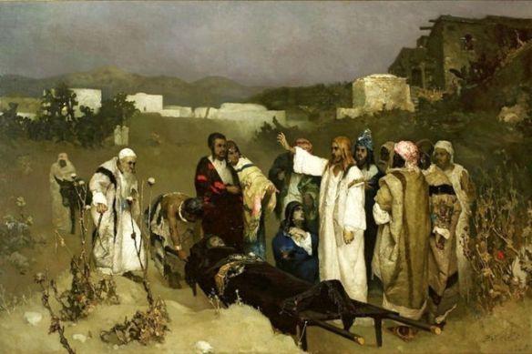 Kotarbinski, Resurrection of the Son of the Widow of Nain