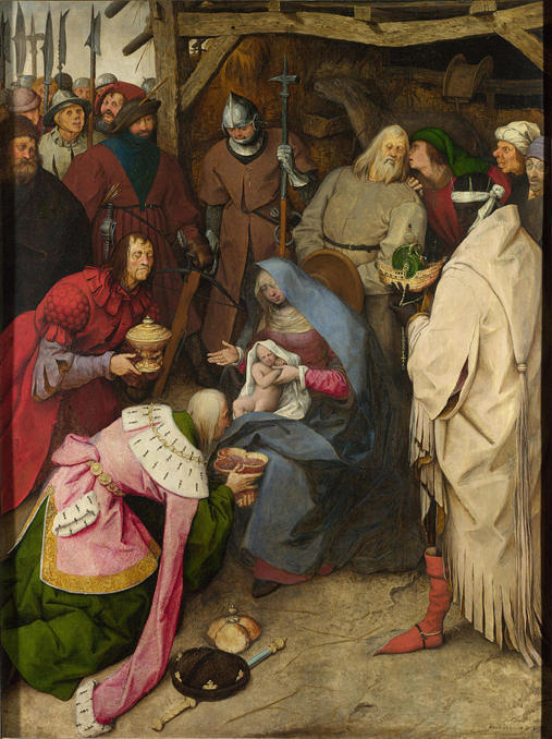 Pieter Bruegel the Elder, The Adoration of the Kings (1564)