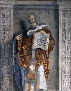 Domenichino, Saint Athanasius