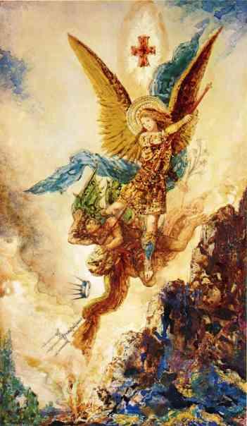 Gustave Moreau, Saint Michael Vanquishing Satan