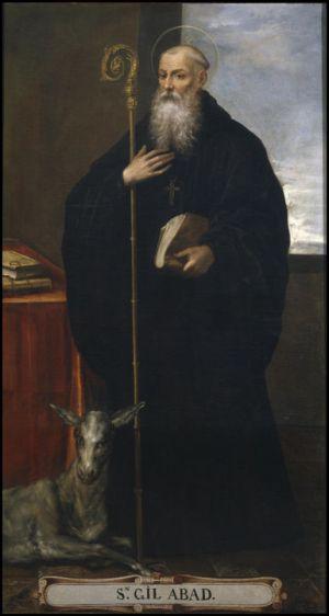 Bartolomé Román. St. Giles Abbot
