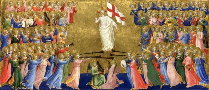 Fra Angelico, Christ Glorified in the Court of Heaven