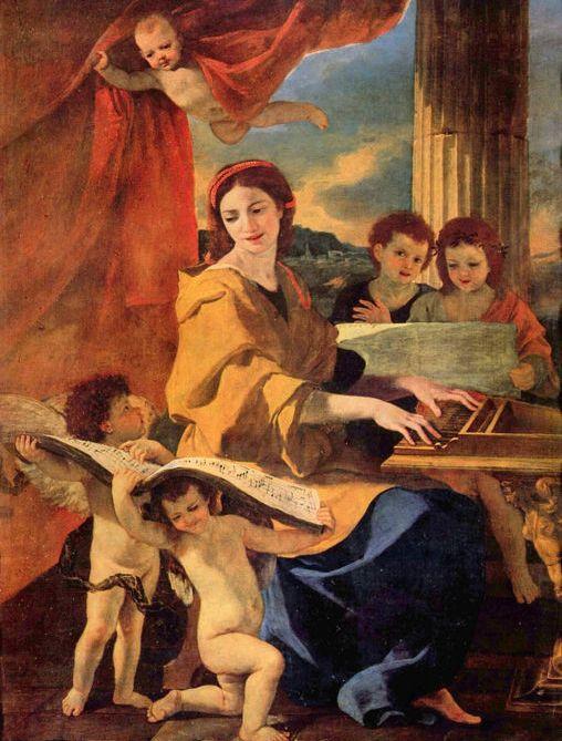 Nicolas Poussin, St. Cecilia