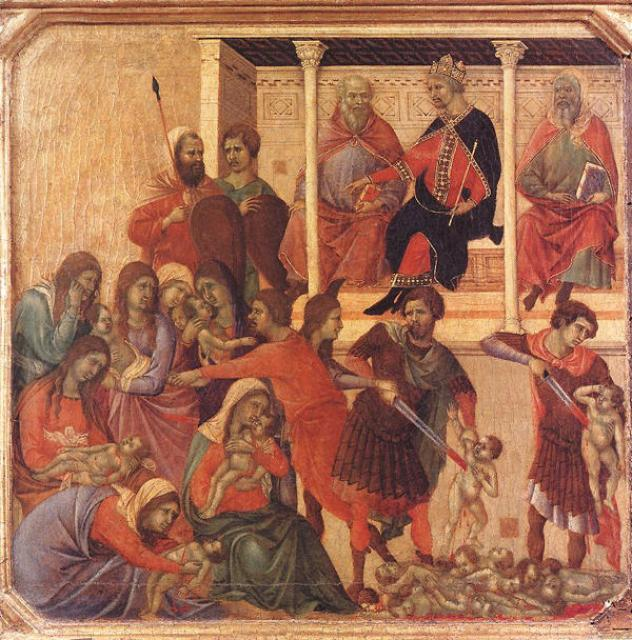 Duccio, The Massacre of the Innocents
