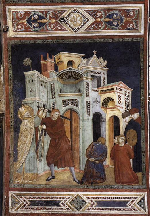 Palmerino di Guido, St Nicholas Saving Three Innocents from Decapitation