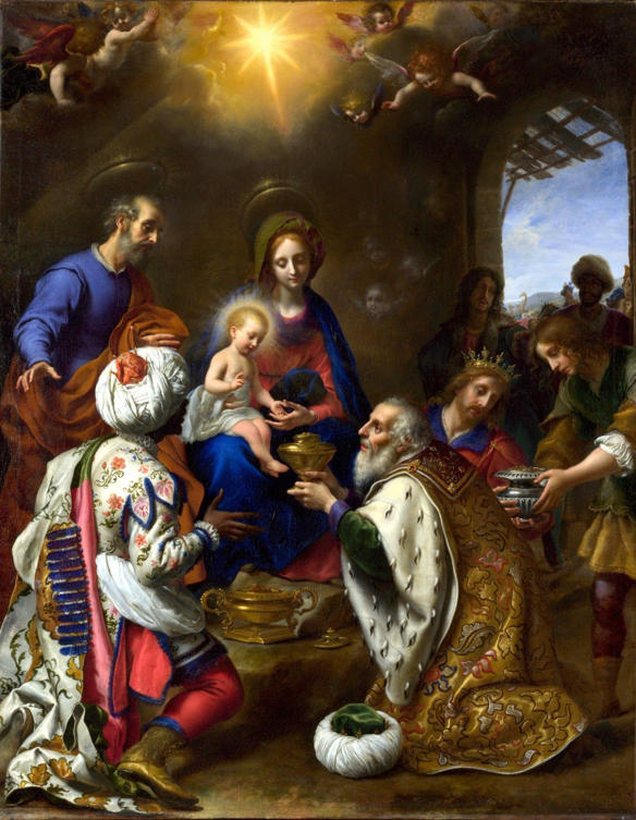 Carlo Dolci, The Adoration of the Kings (1649)