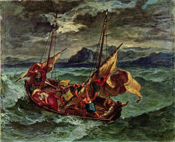 Eugene Delacroix, Christ on the Sea of Galilee