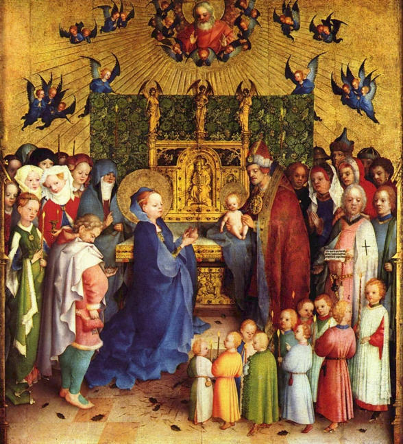 Stefan Lochner, Presentation of Christ in the Temple