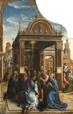 Bernaert van Orley, Choosing St. Matthias to be an apostle