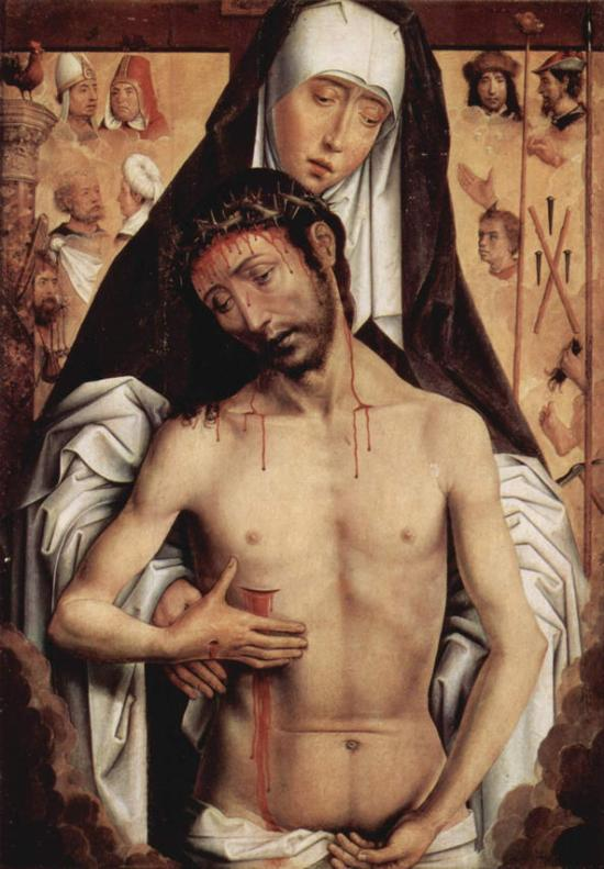 Hans Memling, The Virgin Showing the Man of Sorrows