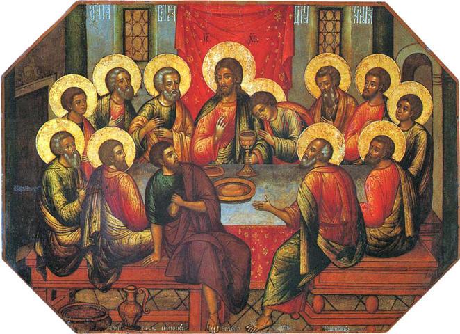 Simon Ushakov, The Last Supper