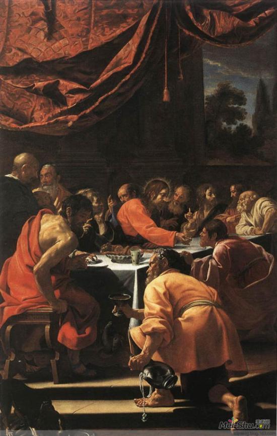 Simon Vouet, The Last Supper, 1615-20