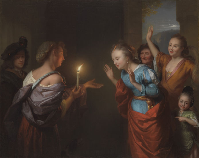 Godfried Schalcken, Parable of the Lost Piece of Silver