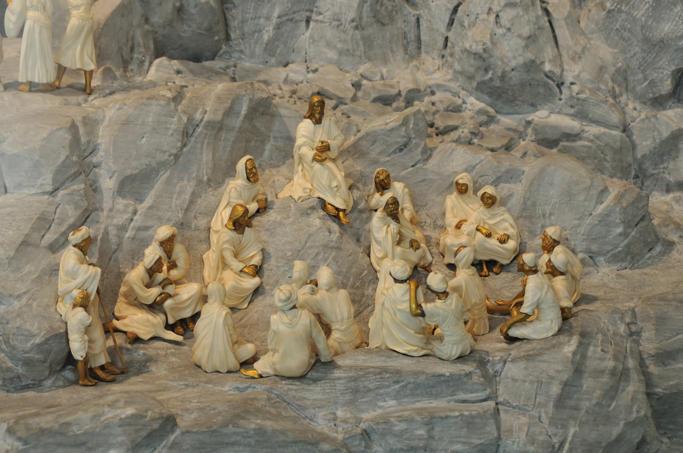 Joseph Chaumet, Sermon on the Mount (detail of Via Vita)