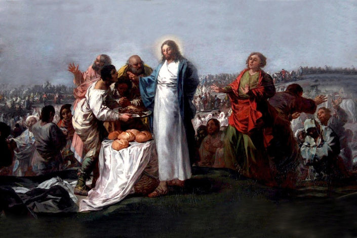 Francisco Goya, The Miracle of the Loaves and Fishes