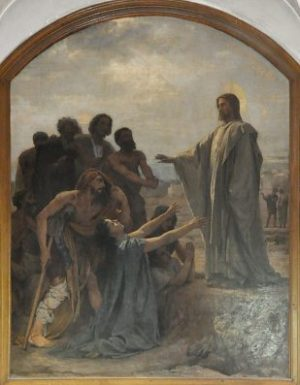 Léon Glaize, Jesus and the Ten Lepers