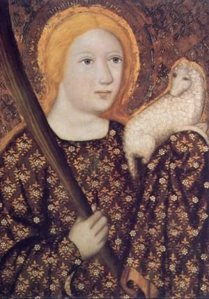 Master Theodorik, St. Agnes of Rome