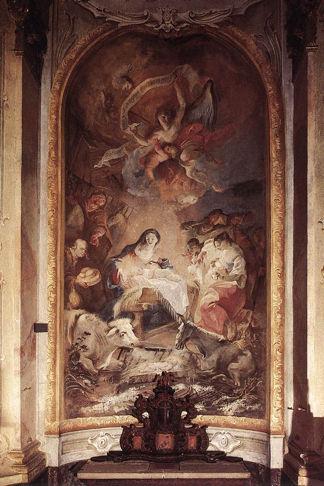 Franz Anton Maulbertsch, Adoration of the Shepherds