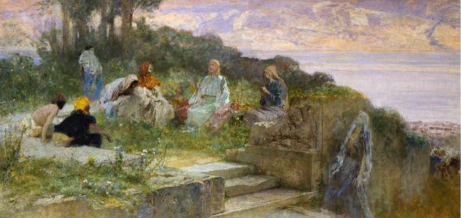 Domenico Morelli, Sermon on the Mount