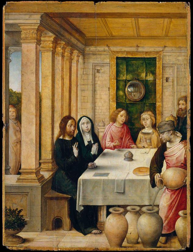 Juan de Flandes, The Marriage Feast at Cana