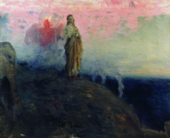Ilya Repin, Follow Me, Satan