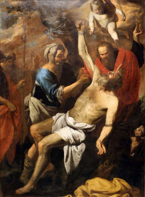 Pietro Novelli (Il Monrealese), Martyrdom of St Bartholomew