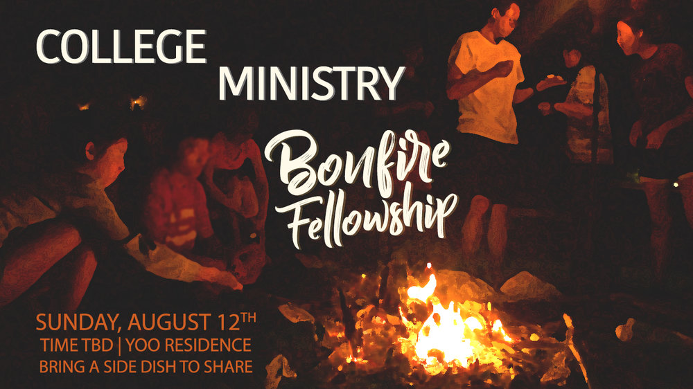 Youth and College Bonfire