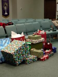 A few of our angel tree gifts 2014