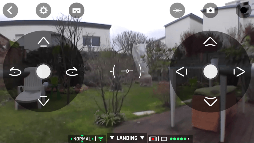 image article Test Parrot mambo fpv 30