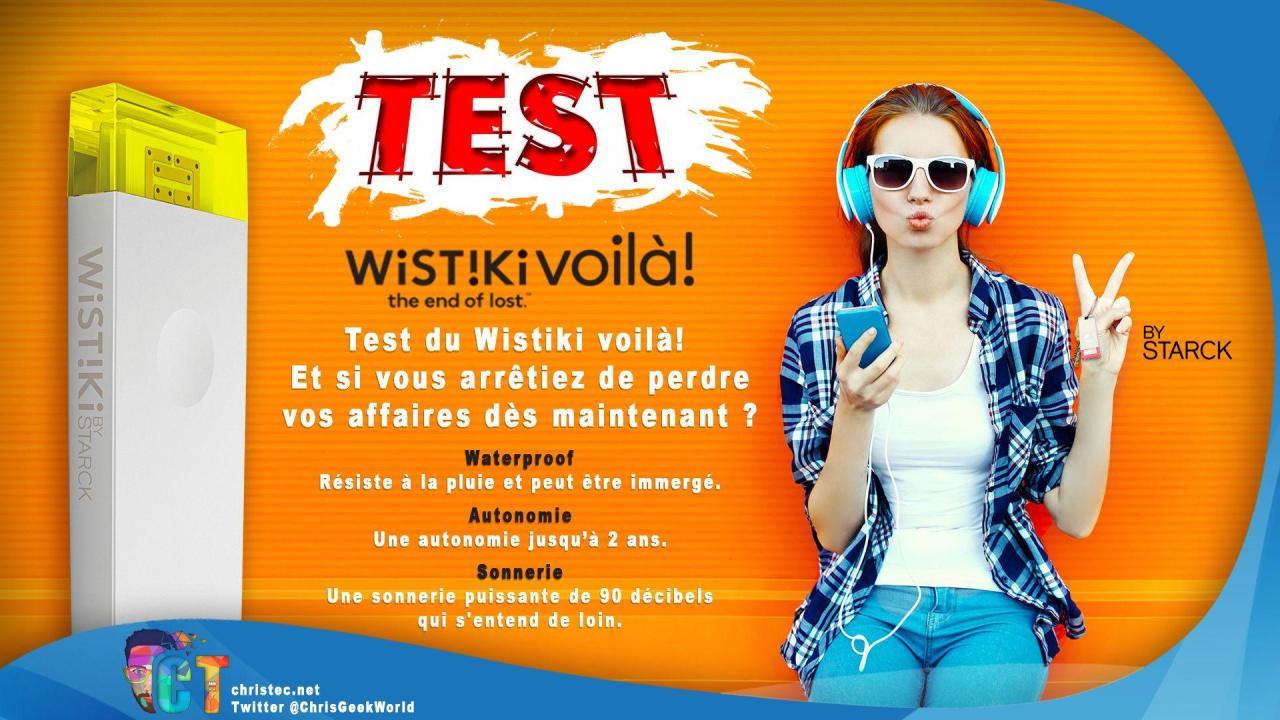 Test du Wistiki voilà!