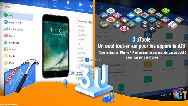 Tuto restaurer iPhone / iPad verrouillé par mot de passe oublié sans passer par iTunes